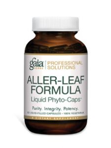 Gaia Herbs (Professional Solutions), ALLER-LEAF PRO 60 LVCAPS