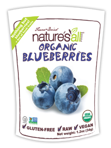 Nature's All, FREEZE DRIED BLUEBERRY 1.2 OZ