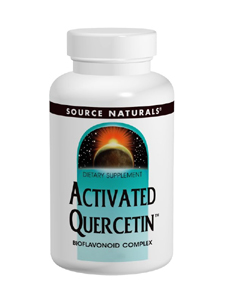 Source Naturals, ACTIVATED QUERCETIN 50 TABS